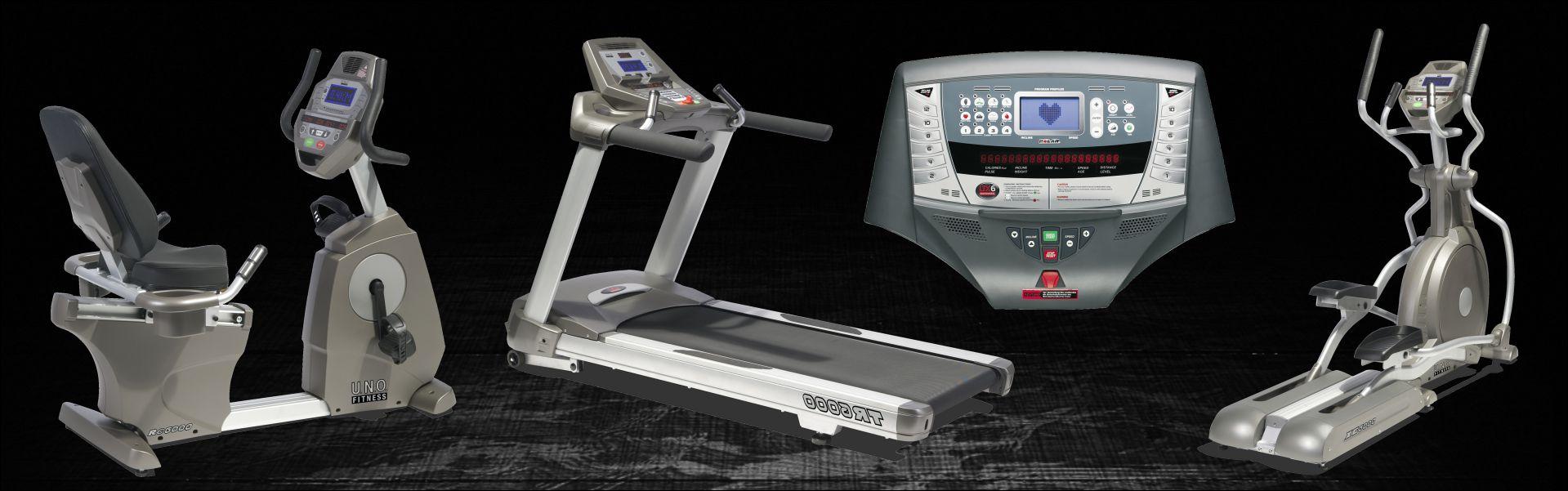 Moderne Cardio Maschinen